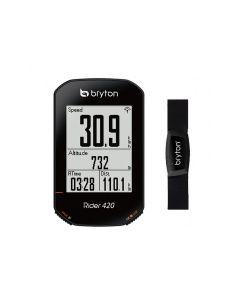 Bryton ciclocomputer 420 con fascia cardio