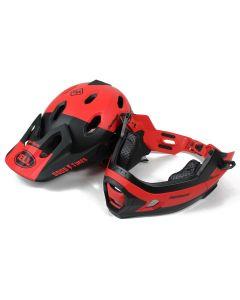 Bell casco integrale Super Dh mentoniera removibile