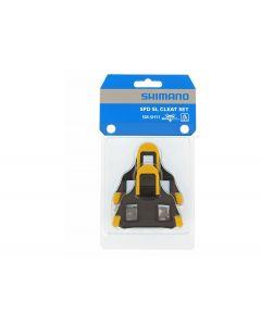 Shimano tacchette pedali SPD -SL SH11 Giallo 6°